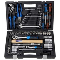 "Professional Tool Set 81 PCS 1/4"" - 1/2"" Socket Set"