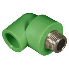 PPR ELBOW MALE METAL 25x1/2""