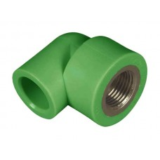 PPR ELBOW FEMALE METAL 25x1/2""