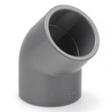 PVC ELBOW 45° 63MM